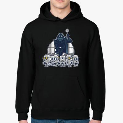 Толстовка худи Darth Vader & Minions