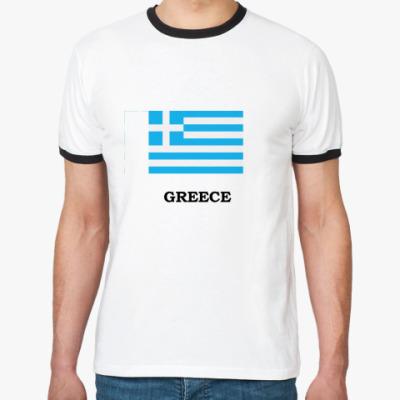 Футболка Ringer-T Greece