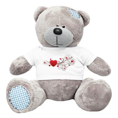 Плюшевый мишка Тедди Love you