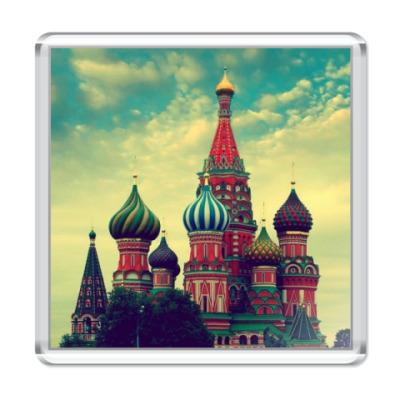 """Магнит """"Золотая моя Москва"""""""