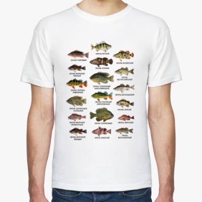 рисунок на футболку рыбаку