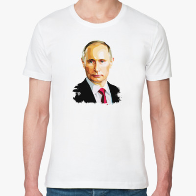 Футболка из органик-хлопка Путин