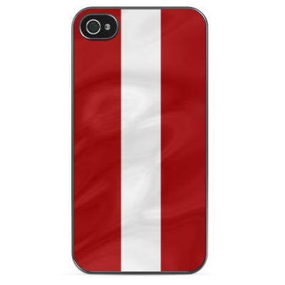 Чехол для iPhone Флаг Латвии