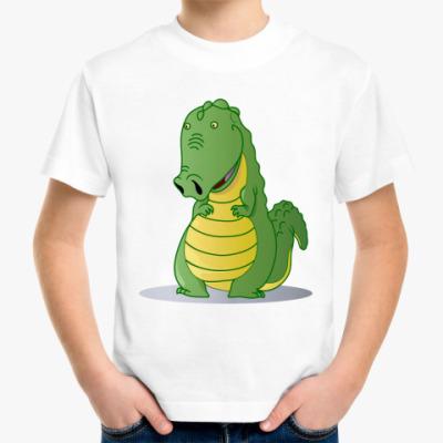Детская футболка крокодильчик