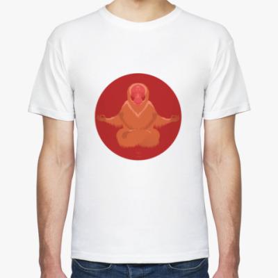 Футболка Animal Zen: U is for Uakari