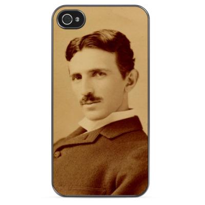 Чехол для iPhone Никола Тесла