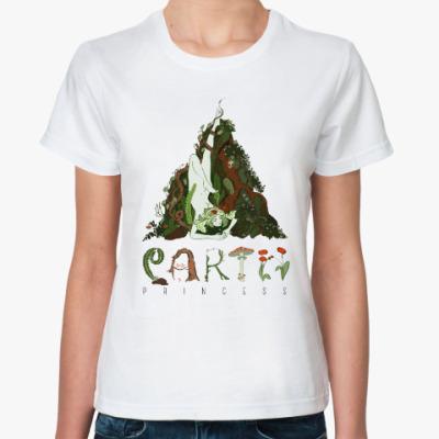 Классическая футболка Ведьма земли