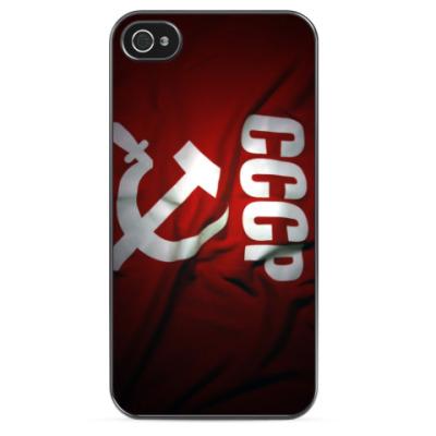 Чехол для iPhone Флаг Советского Союза