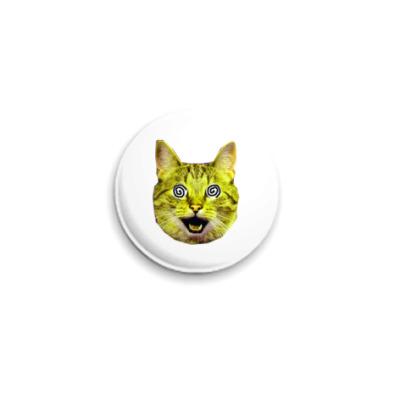 Значок 25мм  «Yellow cat» (25 мм)