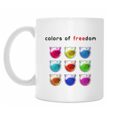 Кружка Colors of freedom