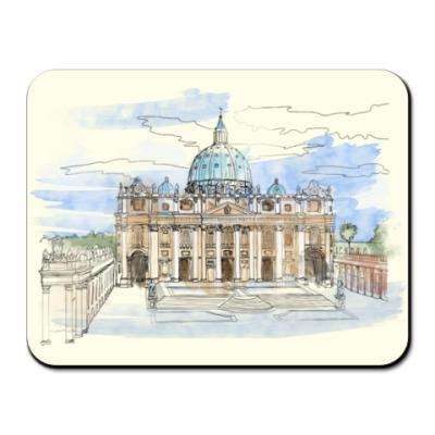 Коврик для мыши Ватикан - Собор Святого Петра