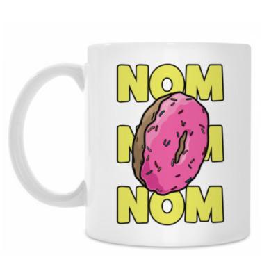 Кружка пончик donut!