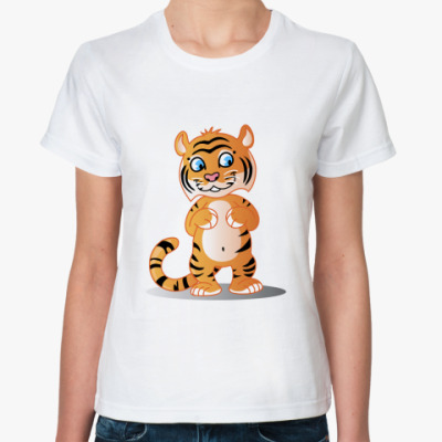 Классическая футболка Тигра