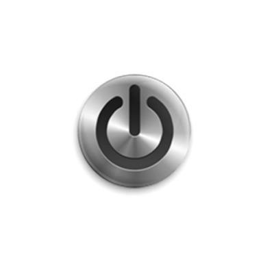Значок 25мм  power_button
