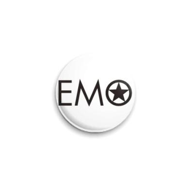 Значок 25мм  25 мм-EMO