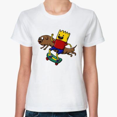 Классическая футболка Время приключений