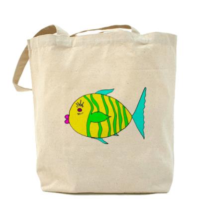 """Сумка Холщовая сумка """"Рыбеус"""""""