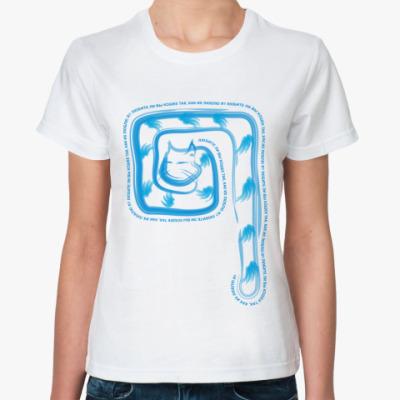 Классическая футболка Любите ли вы кошек...