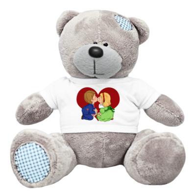 Плюшевый мишка Тедди *Люблю тебя*