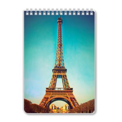 Блокнот Тетрадь В Париже
