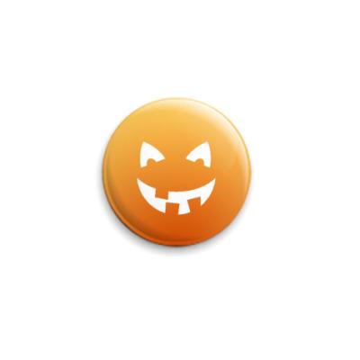 Значок 25мм  Halloween smile