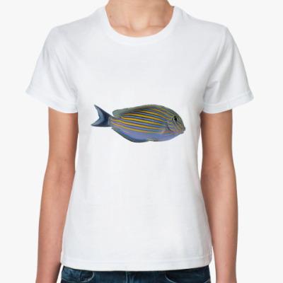 Классическая футболка Рыбка
