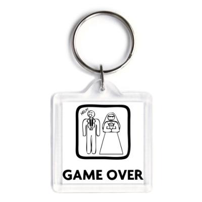 Брелок   'Game Over. Help!'