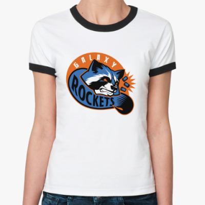 Женская футболка Ringer-T Galaxy Rockets