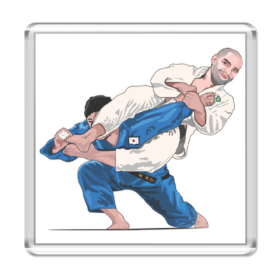 Магнит Kickboxing