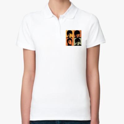 Женская рубашка поло Рубашка поло Fab Four (женс)