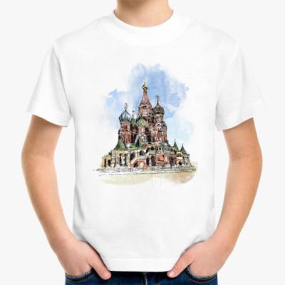 Детская футболка Собор Василия Блаженного