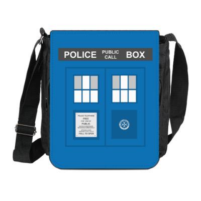 Сумка на плечо (мини-планшет) TARDIS