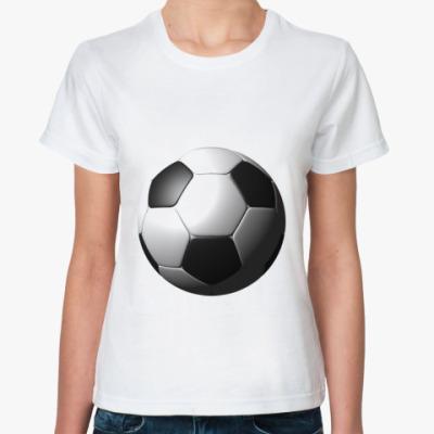 Классическая футболка  3D мяч