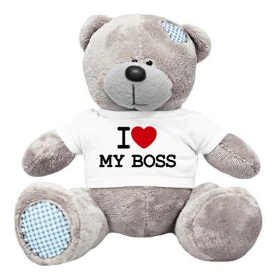 Плюшевый мишка Тедди I Love My Boss