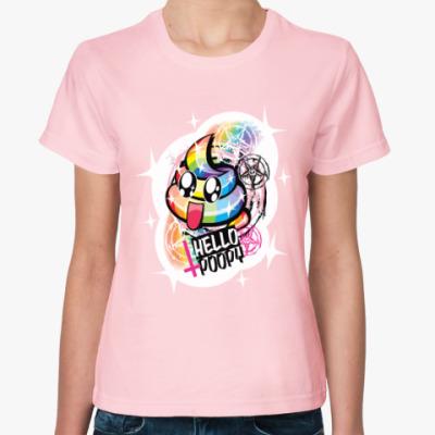 Женская футболка Крейзи