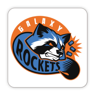 Костер (подставка под кружку) Galaxy Rockets