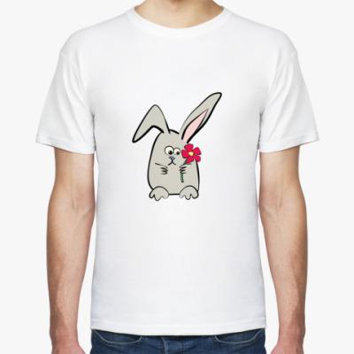 """Футболка  футболка """"Зайка"""""""