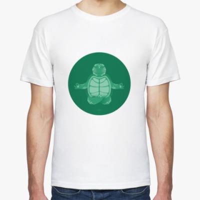Футболка Animal Zen: T is for Turtle