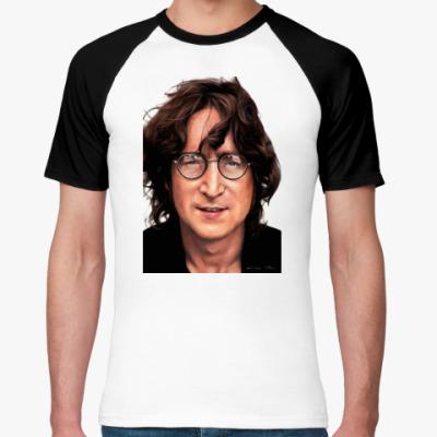 Футболка реглан Imagine John Lennon (мужск)