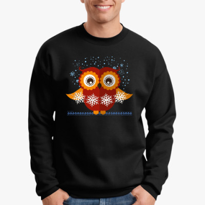 Свитшот Зимняя сова