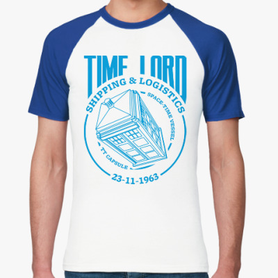 Футболка реглан Time Lord