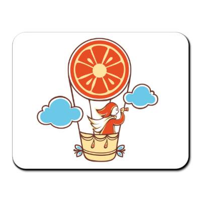 Коврик для мыши Апельсинка