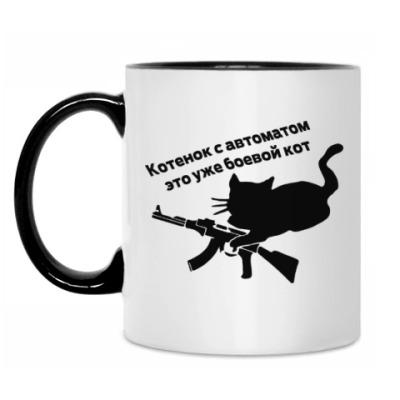 Кружка Army kitty