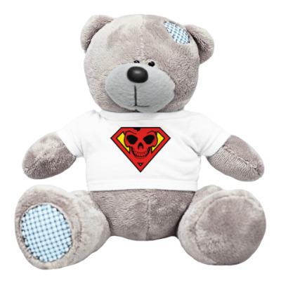 Плюшевый мишка Тедди Skull Superman