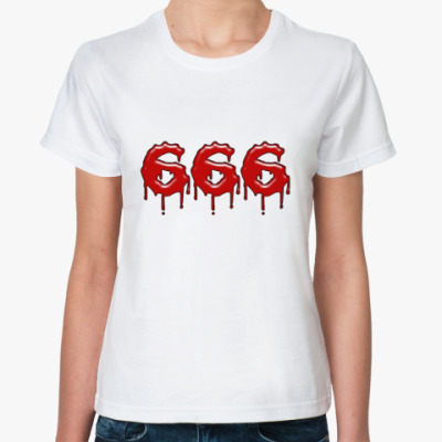 Классическая футболка 666