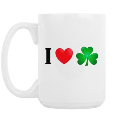Кружка Я люблю Ирландию