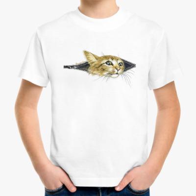 Детская футболка Внутренний Кот