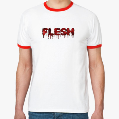 Футболка Ringer-T flesh