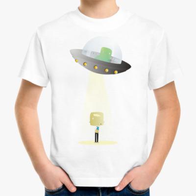Детская футболка НЛО