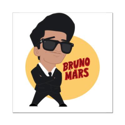 Наклейка (стикер) 'Бруно Марс'